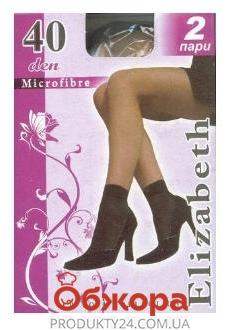 Носки Элизабет (ELIZABETH) Microfibre 40 Nero UNICA – ИМ «Обжора»