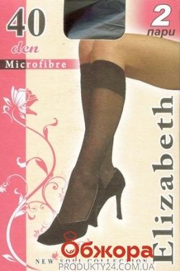 Гольфы Элизабет (ELIZABETH) Microfibre 40 Nero UNICA – ИМ «Обжора»