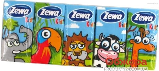 Платки нос. Зева (ZEWA) Kids 10*10 – ИМ «Обжора»