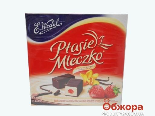 Конфеты Ведел (Wedel) 380г Птичье молоко клубничное желе – ИМ «Обжора»