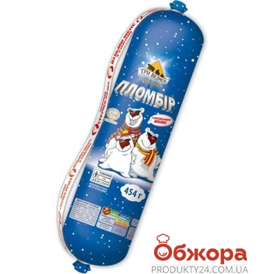 Мороженое Три Медведя Фунт Пломбир 454 гр. – ИМ «Обжора»
