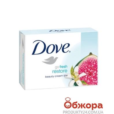 Крем-мыло Дав (Dove) Инжир и лепестки апельсина 135 гр. – ИМ «Обжора»