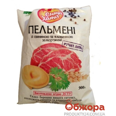 Пельмени Сыта хата Домашние свинина/говядина 900 г – ИМ «Обжора»