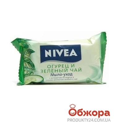 Мыло Нивея (Nivea) BathCare Огурец и зеленый чай 90 г – ИМ «Обжора»