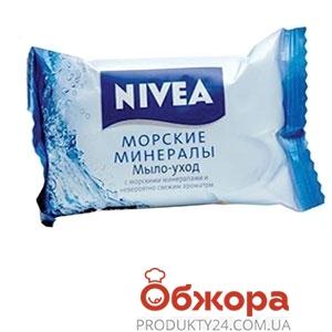 Мыло Нивея (Nivea) BathCare Морские минералы, 90 г – ИМ «Обжора»