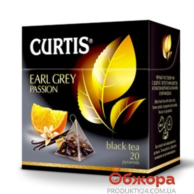 Чай Кертис (Curtis) Earl Grey Passion 20 п – ИМ «Обжора»