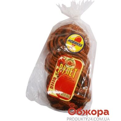Булочка Золотое зерно Плюшка 100 гр. – ИМ «Обжора»
