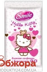 Платки Смайл (Smile) Hello Kitty Микс сухие 10 шт – ИМ «Обжора»