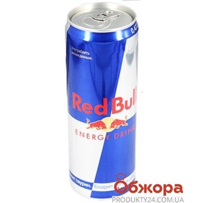 Напиток энергетический Ред Бул (Red Bull) 0,473 л – ИМ «Обжора»