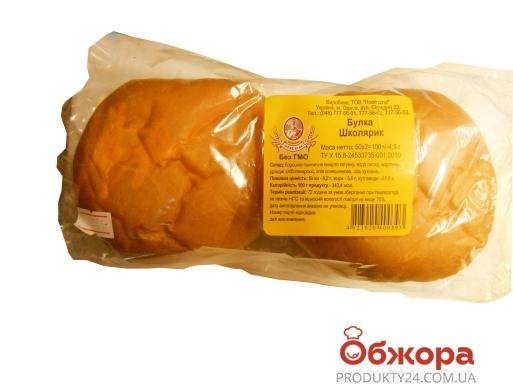 Булочка бутербродная Школьник Новое Дело 2 шт – ИМ «Обжора»