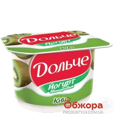 Йогурт Дольче 120г киви 3,2% – ИМ «Обжора»