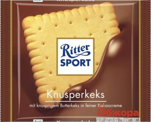 Шоколад Риттер 100г кнусперкекс – ИМ «Обжора»