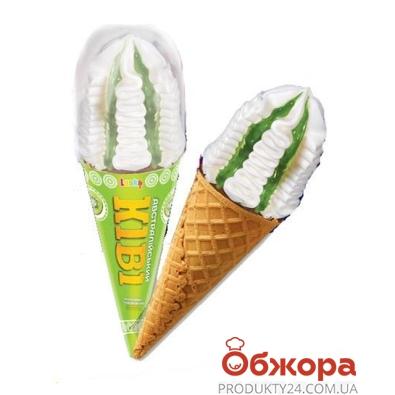 Мороженое Ласка Рожок Австралийский киви 145 гр. – ИМ «Обжора»