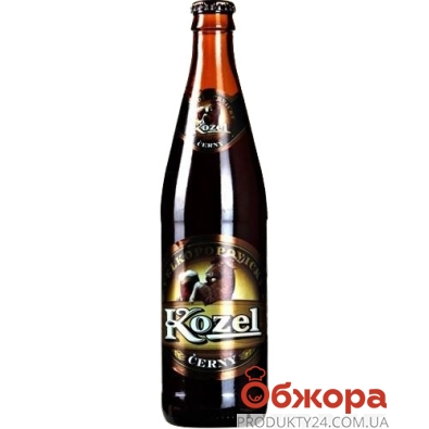 Пиво Велкопоповицький Козел 0,45л темне – ІМ «Обжора»
