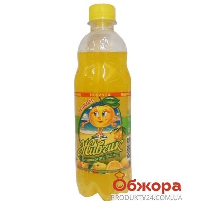 Вода Оболонь Живчик Апельсин 0,5 л – ИМ «Обжора»