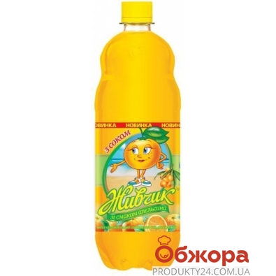 Вода Оболонь Живчик Апельсин 2 л – ИМ «Обжора»