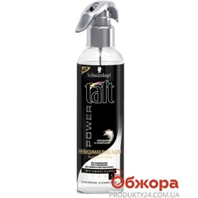 Гель для волос TAFT невидимая фиксация 150 мл – ИМ «Обжора»