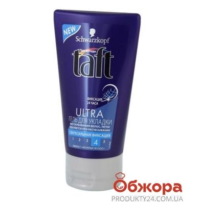 Гель для волос TAFT эффект мокрых волос 150 мл – ИМ «Обжора»