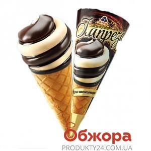 Мороженое Рудь Рожок Импереза Три шоколада 100 г – ИМ «Обжора»
