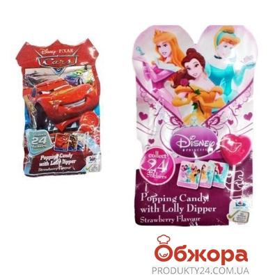 Конфеты Бип (Bip) с прыг.леденцами принцессы, тачки – ИМ «Обжора»