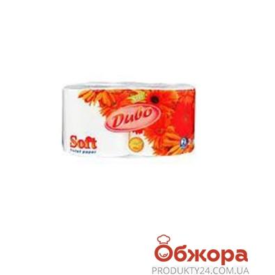 Туалетная бумага Обухов Диво Софт белая 2 шт. – ИМ «Обжора»