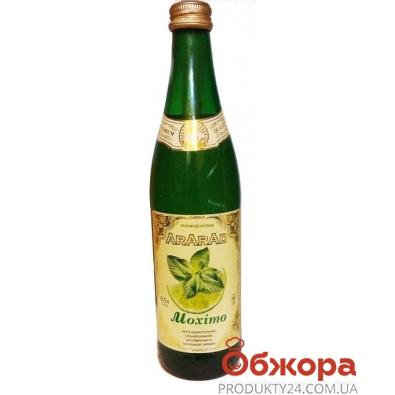 Лимонад Арарад Мохито 0,5 л. стеклянная бутылка – ИМ «Обжора»