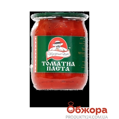 Томатная паста Щедрый Пан 500 г – ИМ «Обжора»