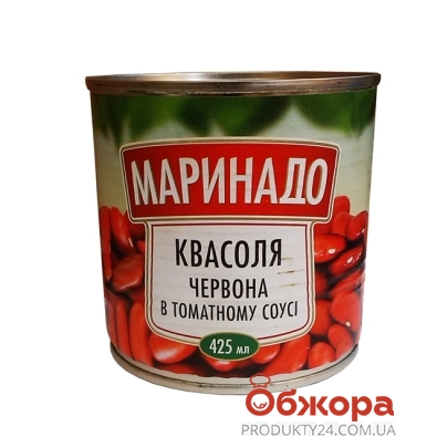 Конс. Маринадо 425 гр. фасоль в томатном соусе ж\б – ИМ «Обжора»