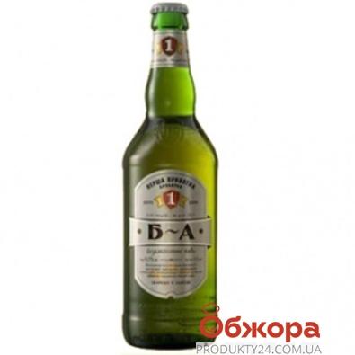 Пиво Перша Приватна Броварня (ППБ) безалкогольное 0,5 л – ИМ «Обжора»