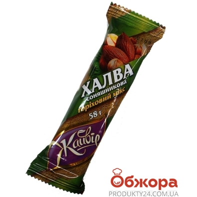 Халва Жайвир ореховый микс 58 г – ИМ «Обжора»