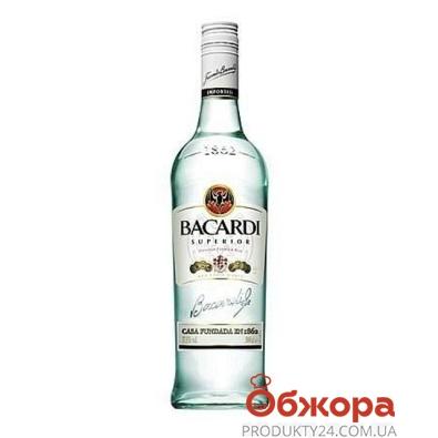 Ром Bacardi Carta Blanca 500 мл – ІМ «Обжора»