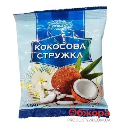 Кокосовая стружка  Кристалл 100 г – ИМ «Обжора»