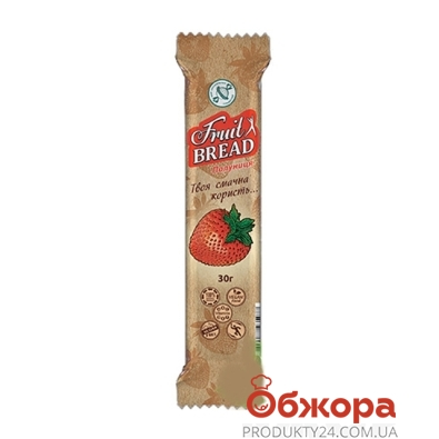 Конфеты Сладкий мир фруктовый хлеб клубника 30 г – ИМ «Обжора»