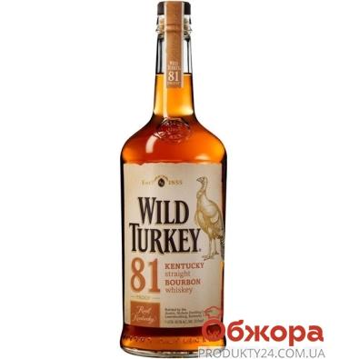 Виски Бурбон Уайлд Тёки (WildTurkey) 0,7 л – ИМ «Обжора»