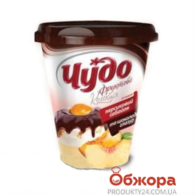 Десерт Чудо Коллекция персиковый сабайон-глазурь 3,6% 340 г – ИМ «Обжора»
