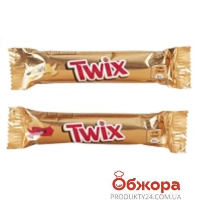 Батончик шоколадный Твикс (Twix) молочный 25 г – ИМ «Обжора»