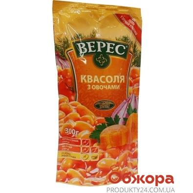 Консерва Верес Фасоль с овощами д/пак 300 гр. – ИМ «Обжора»
