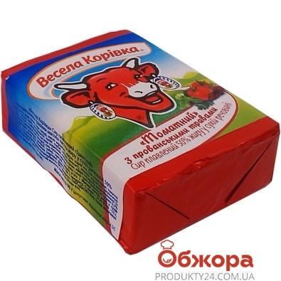 Сыр плавленый Веселая коровка томатный 90 г – ИМ «Обжора»