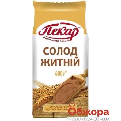 Солод Пекарь ржаной 400 гр. – ИМ «Обжора»