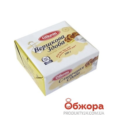 Маргарин Олком Сдоба 65% 200 гр. – ИМ «Обжора»