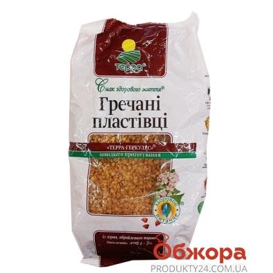 Хлопья Терра гречневые 400 гр. – ИМ «Обжора»