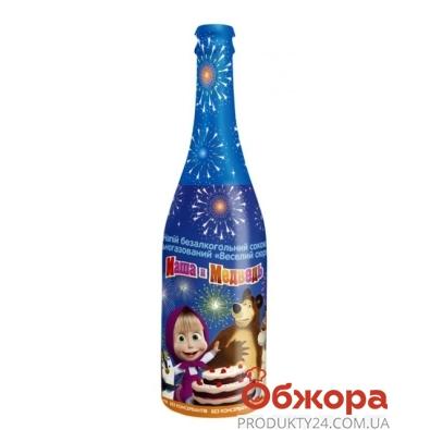 Шампанское Маша и Медведь Веселый сюрприз вишня 0,75 л. – ИМ «Обжора»