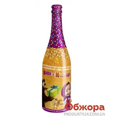 Шампанское Маша и Медведь Яблочный каприз 0,75л – ИМ «Обжора»