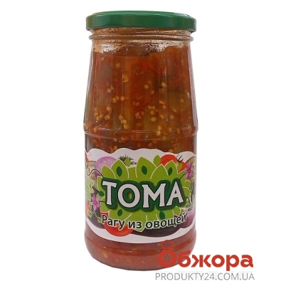 Конс.ТОМА 460г Рагу овощное – ИМ «Обжора»