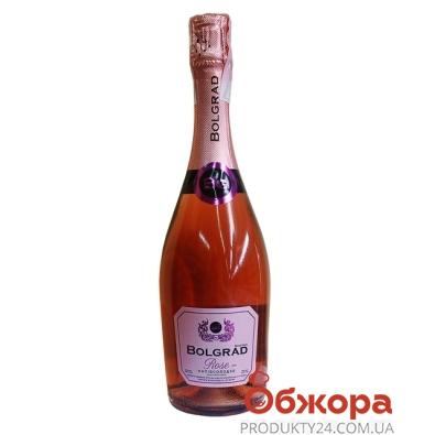 Вино игристое Болград (Bolgrad) розовое полусладкое 0,75 л. – ИМ «Обжора»
