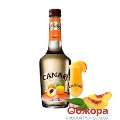 Ликер Канари (Canari) Персик 0,35 л. – ИМ «Обжора»