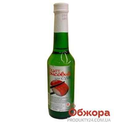 Уксус Уникон рисовый 4% 250 мл. – ИМ «Обжора»