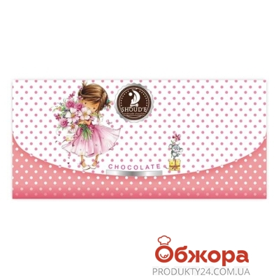 Шоколад Шоудье молочный Клатч 70 г – ИМ «Обжора»