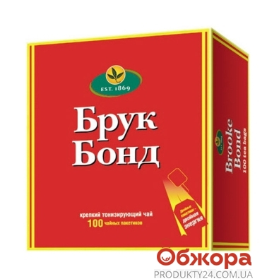Чай Брук Бонд (Brookе Bond) 100 п – ИМ «Обжора»