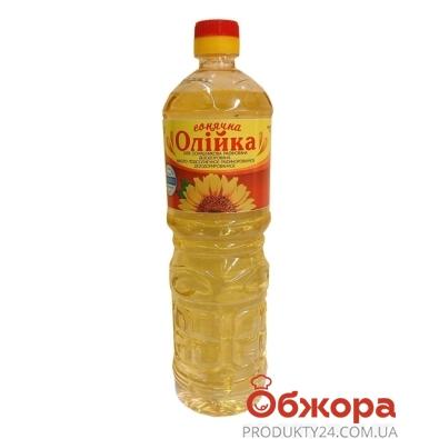 Подсолнечное масло Олийка рафинированное 1 л – ИМ «Обжора»